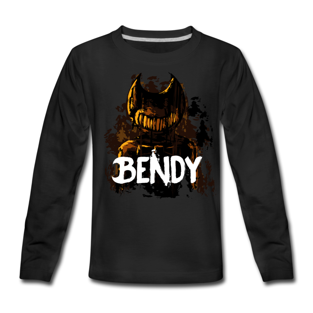 Boris and the Dark Survival - Survive Bendy Long Sleeve T-Shirt - black