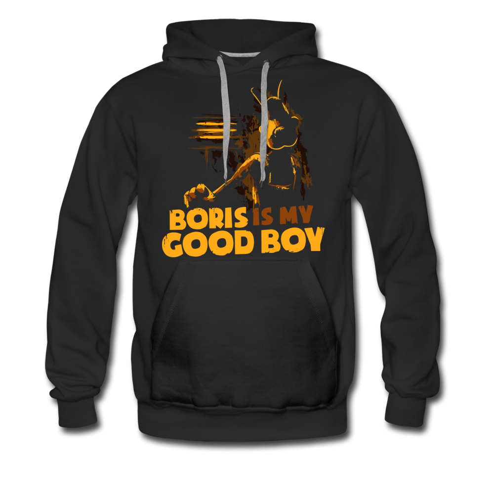 Boris and the Dark Survival - Good Boy Boris Hoodie (Mens) - black