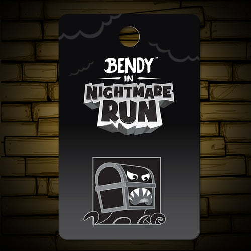 Nightmare Run - Walks the Plank Lapel Pin