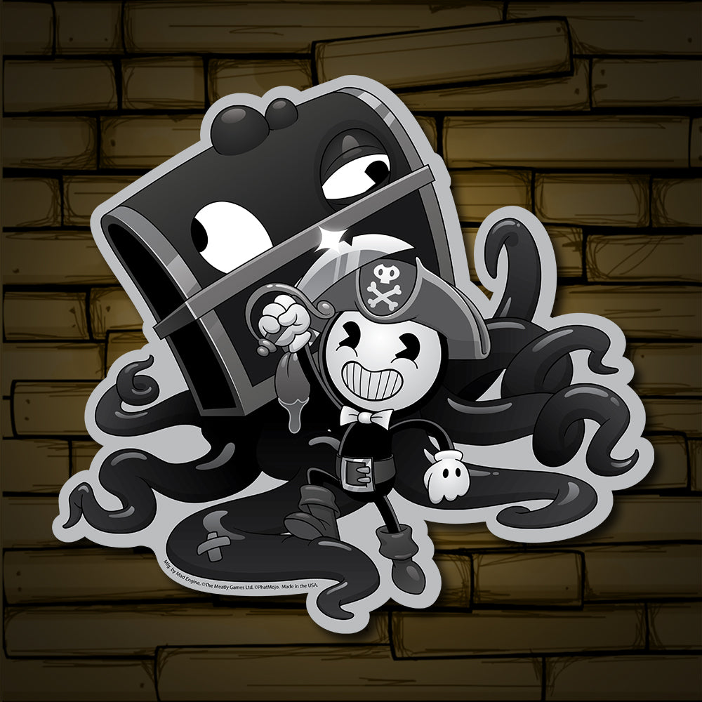 Nightmare Run - Walks the Plank Sticker