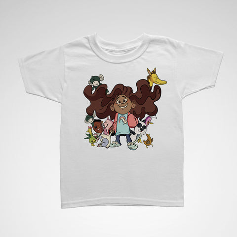 "Kids ""A.J. & Friends"" Tee"