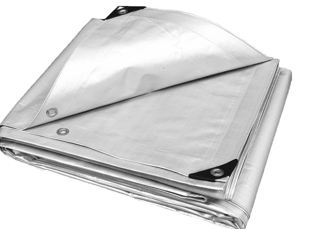 HEAVY DUTY WHITE TARP   Appropriate for Canopy Applications