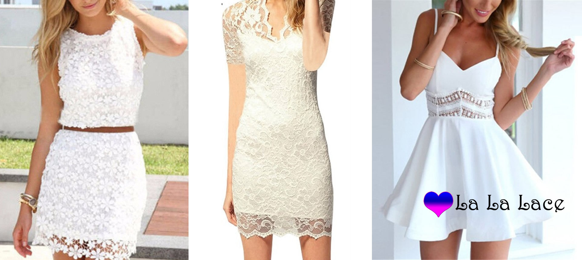 Favorite <br> Lace Dresses