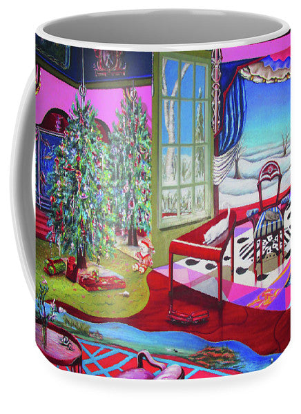 Christmas Painting - Mug - Sharon Tatem Fashion