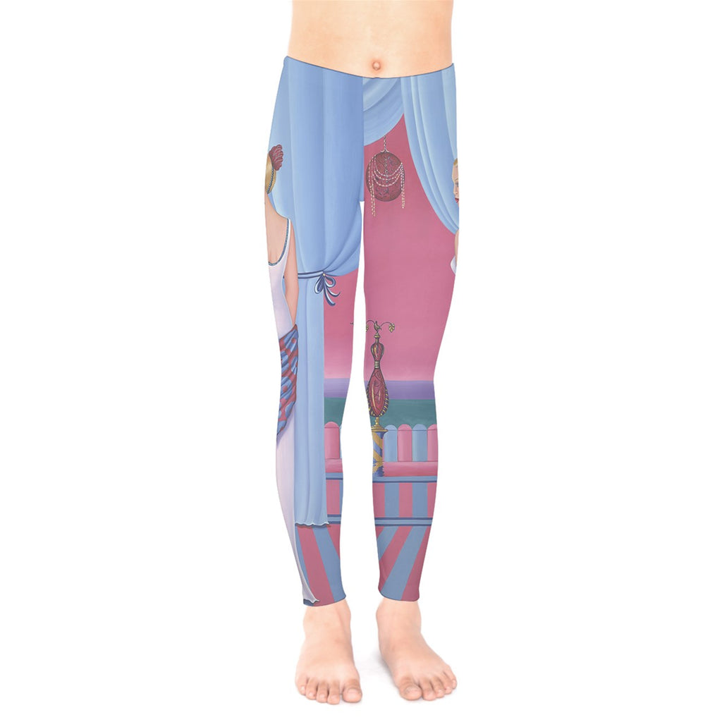 Palm Beach Perfume Art Collection Kids' Legging