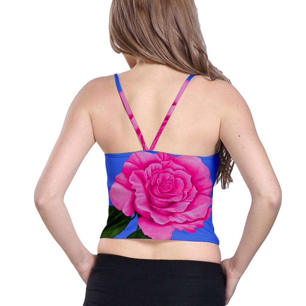 Roses Collections Spaghetti Strap Bra Top