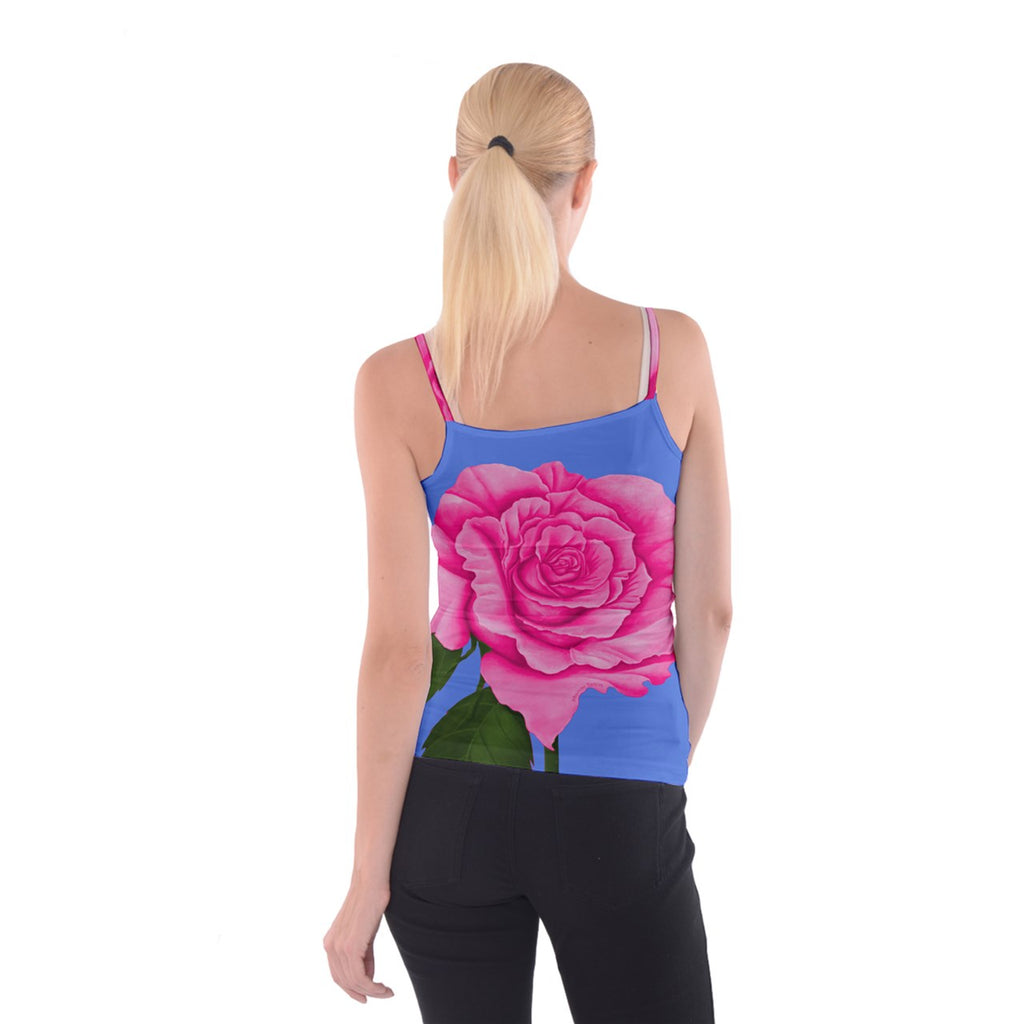 Roses Collections Spaghetti Strap Top
