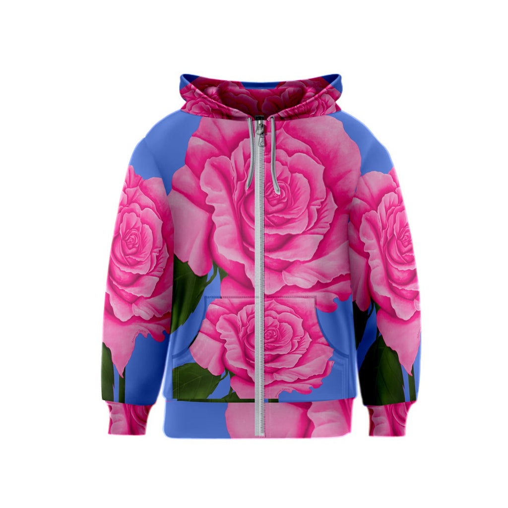 Roses Collections Kids' Zipper Hoodie