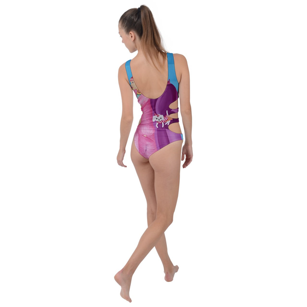 Palm Beach Days Side Cut Out Swimsuit