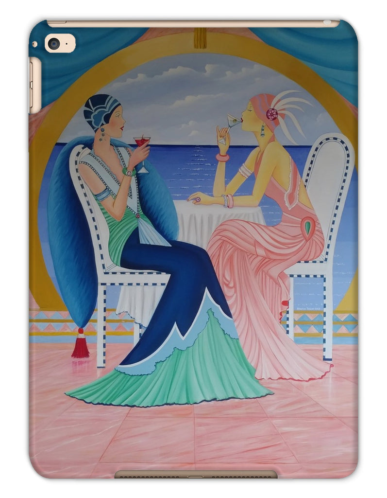Art Deco Cruising Women Tablet Cases - Sharon Tatem Fashion