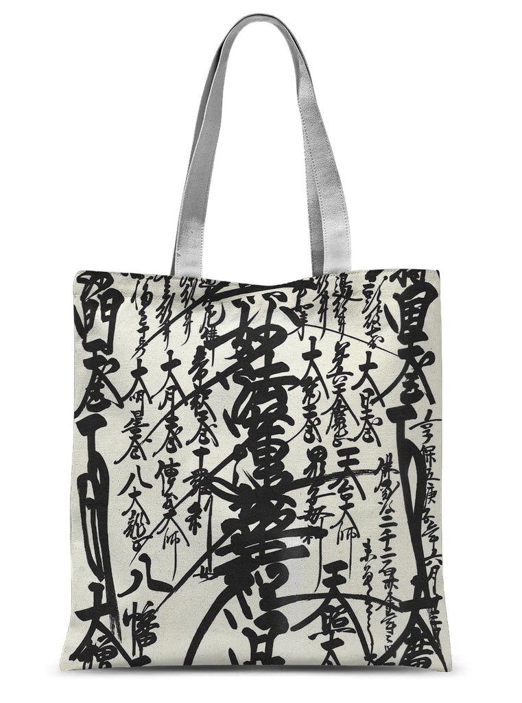 Oriental Design Tote Bag