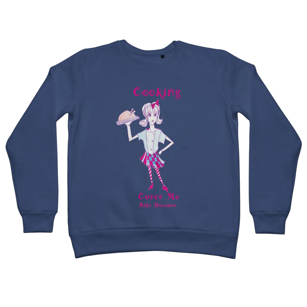 Bibi Because Cooking Cures Me Sweatshirt - Sharon Tatem Fashion