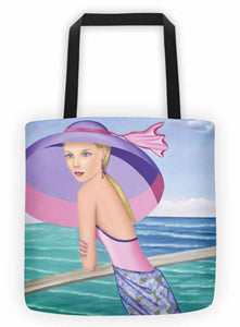 Sharon Tatem Fashion Tote bag Palm Beach Collection - Sharon Tatem Fashions