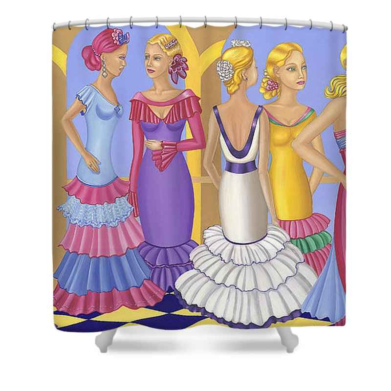 All About The Dress - Shower Curtain - Sharon Tatem Fashion