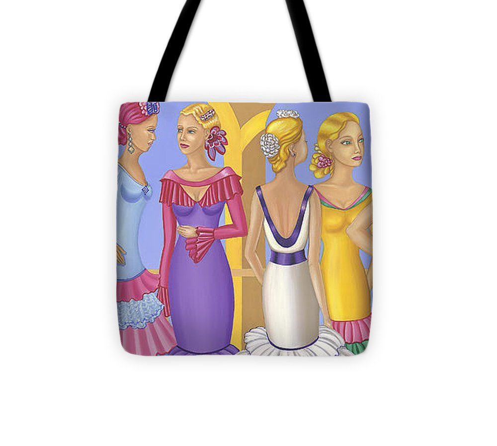 All About The Dress - Tote Bag - Sharon Tatem Fashion