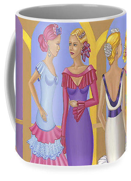 All About The Dress - Mug - Sharon Tatem Fashion