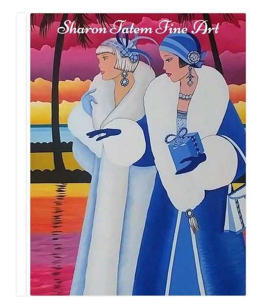 The Palm Beach Collection of Art is the 2019 Fine Art Book   - Sharon Tatem Fashion