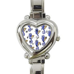 SEAHORSE HEART CHARM WATCH - Sharon Tatem Fashion
