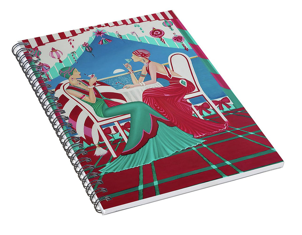 Christmas Cruisin - Spiral Notebook