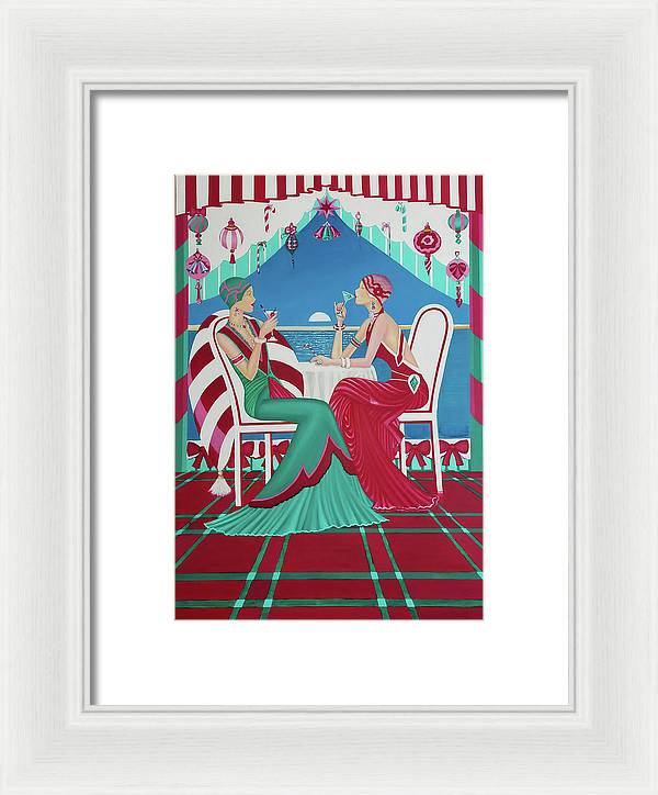 Christmas Cruisin - Framed Print