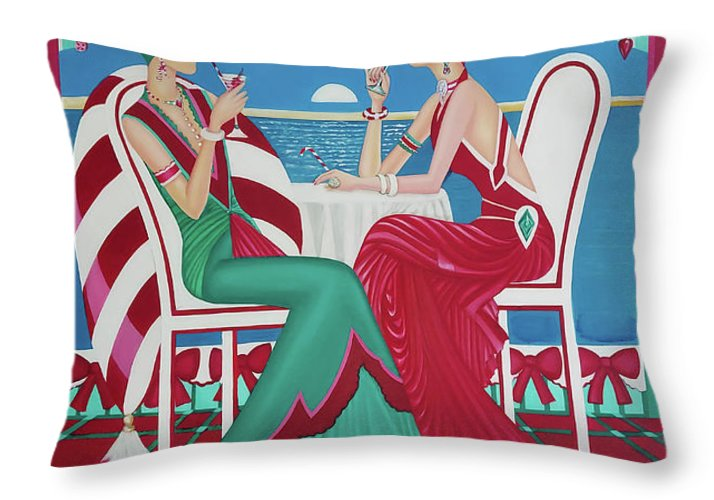 Christmas Cruisin - Throw Pillow