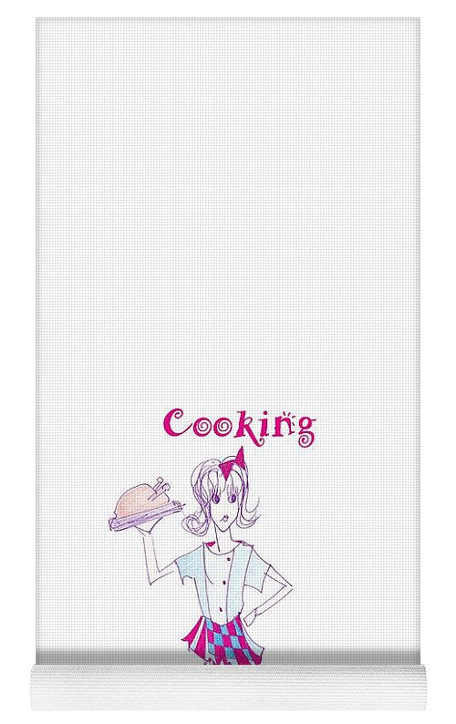 Cooking Cures Me Bibi Because - Yoga Mat - Sharon Tatem Fashion