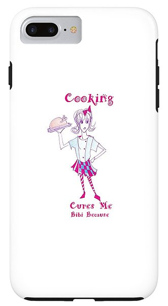 Cooking Cures Me Bibi Because - Phone Case - Sharon Tatem Fashion