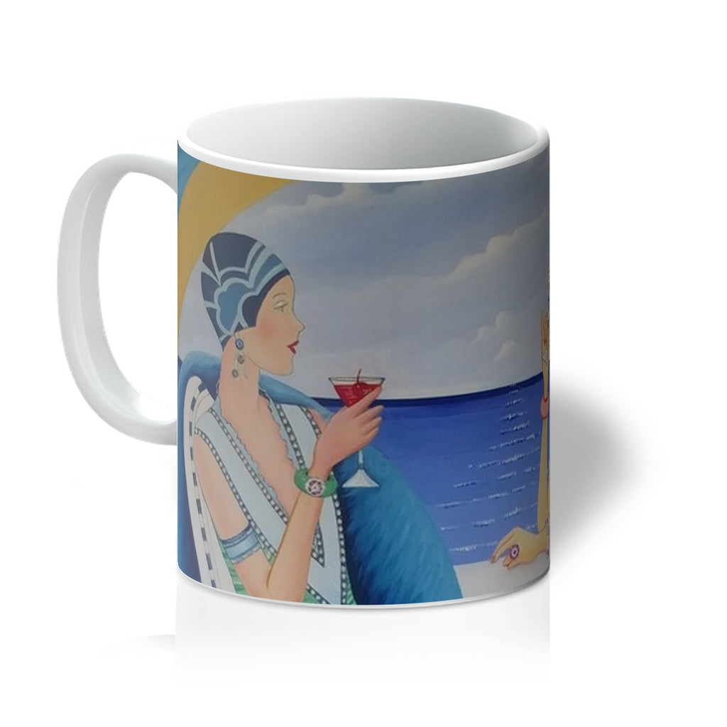 Art Deco Cruising Women Mug - Sharon Tatem Fashion