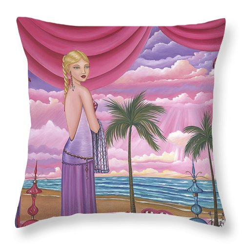 Melissa - Throw Pillow - Sharon Tatem Fashion