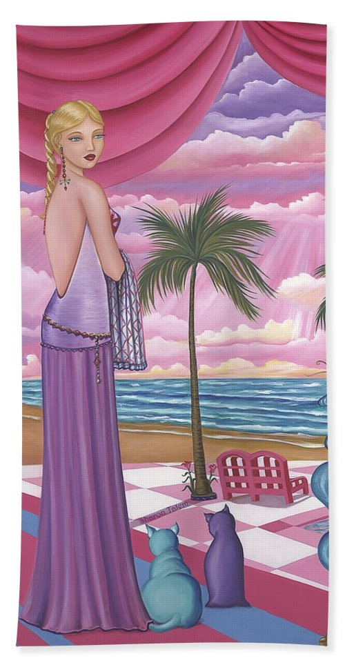 Melissa - Beach Towel - Sharon Tatem Fashion