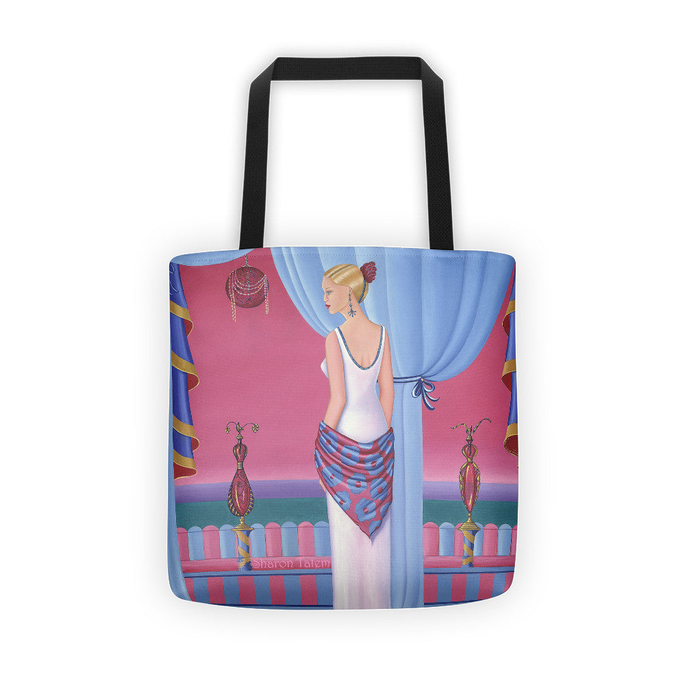 Tote bag Perfume Canvas Bag - Sharon Tatem Fashion
