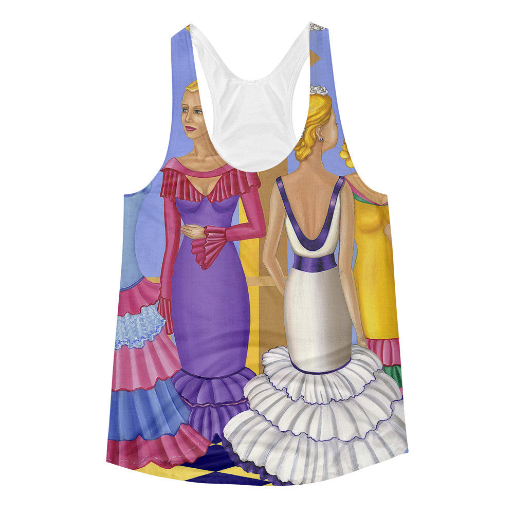 Sharon Tatem Printed Tank Top All About The Dress Collection - Sharon Tatem Fashions