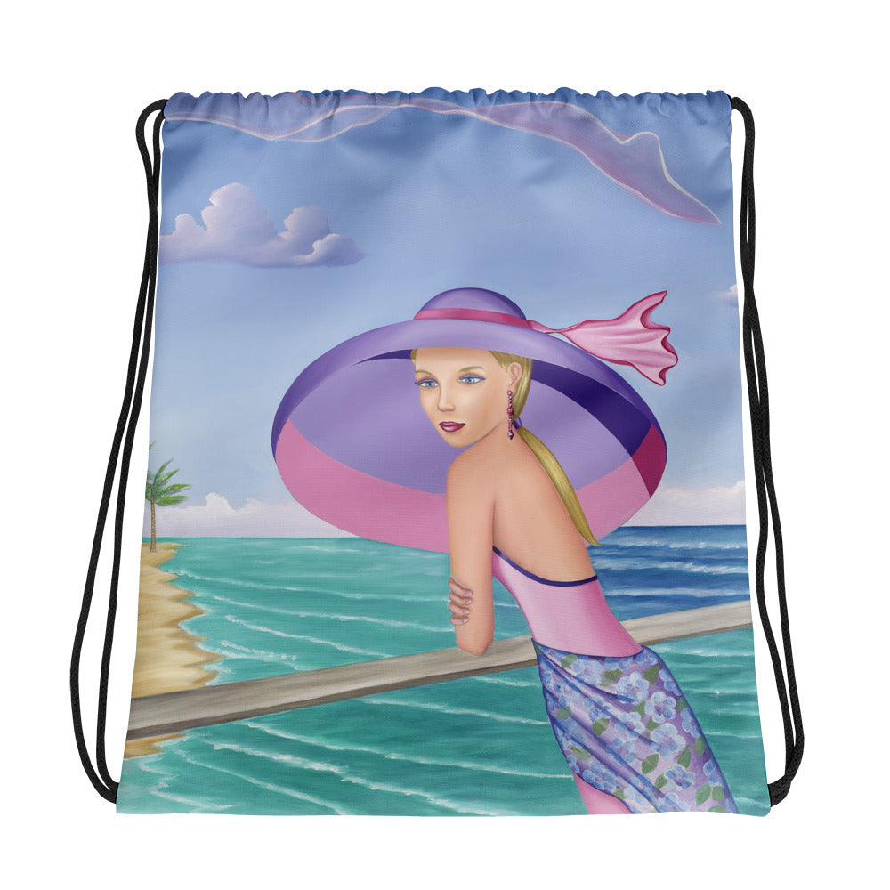 Drawstring bag FINALLY I love this drawstring Bag - Sharon Tatem Fashions