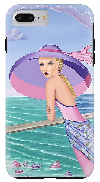 Palm Beach Purple - Phone Case - Sharon Tatem Fashion