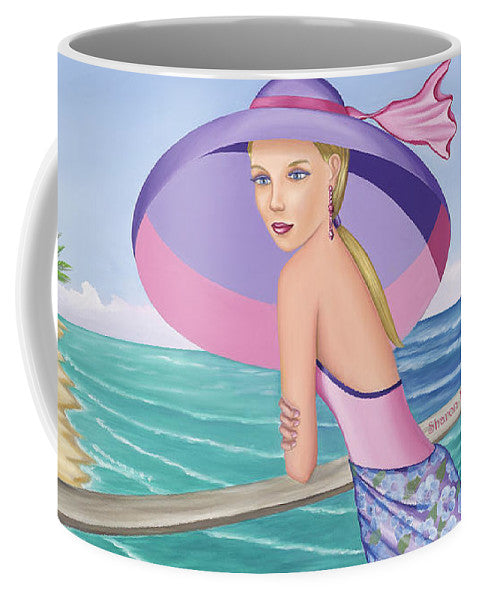 Palm Beach Purple - Mug - Sharon Tatem Fashion