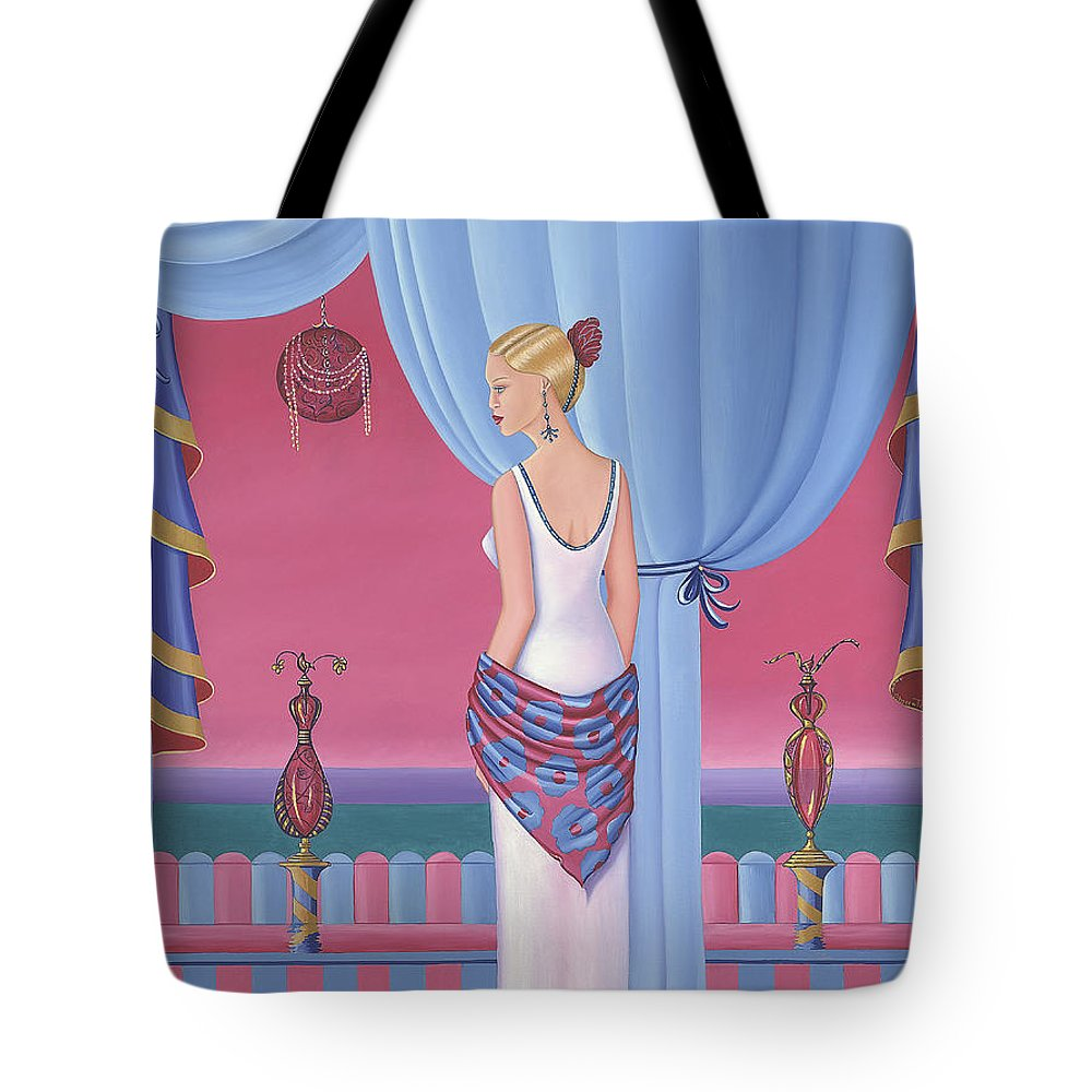 Perfume Tote Bag - Sharon Tatem Fashion