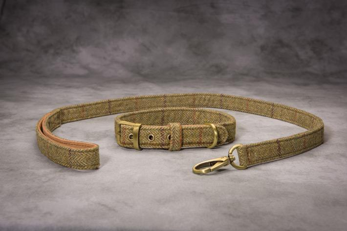 DOG Tweed Leads