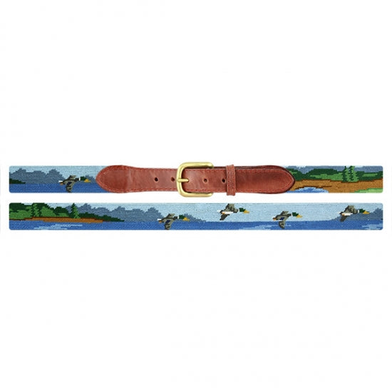 Smathers & Branson Great Outdoors Needlepoint Belt