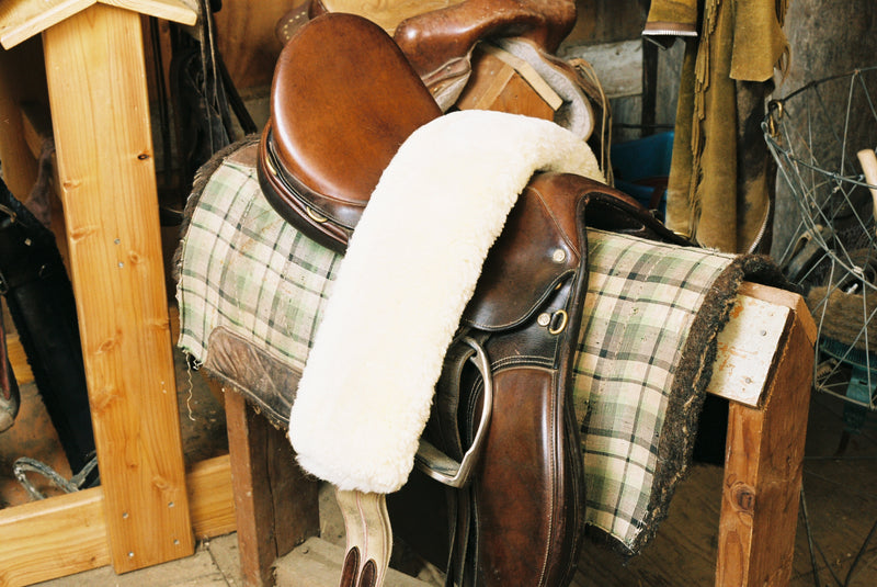 US Sheepskin Girth Cover