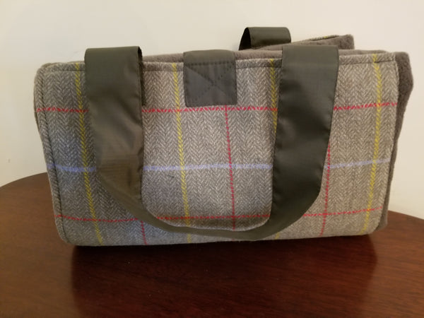 Glaze & Gordon Tweed Waterproof Picnic Blanket