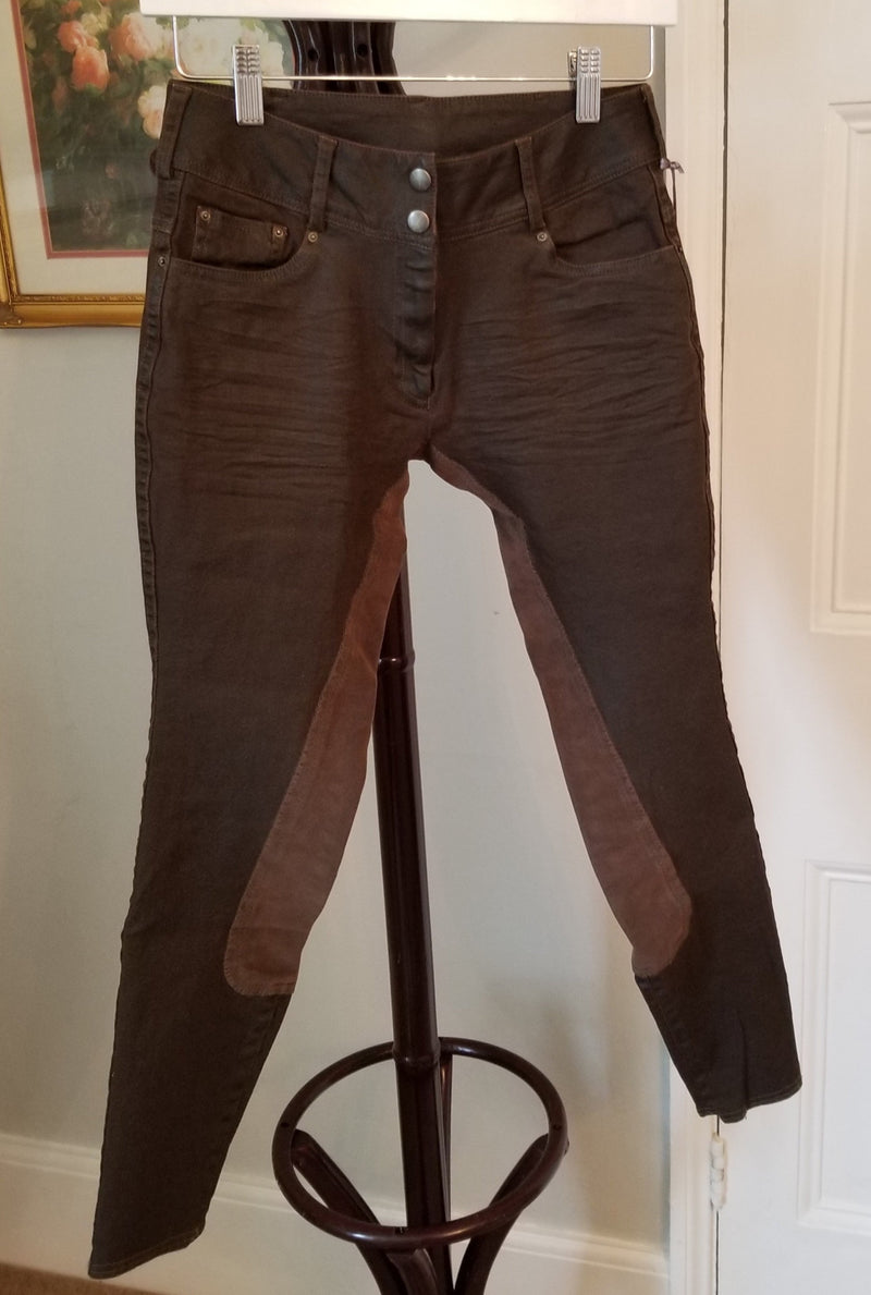 "Goode Rider ""Faux Leather"" Equestrian Jean Full Seat"