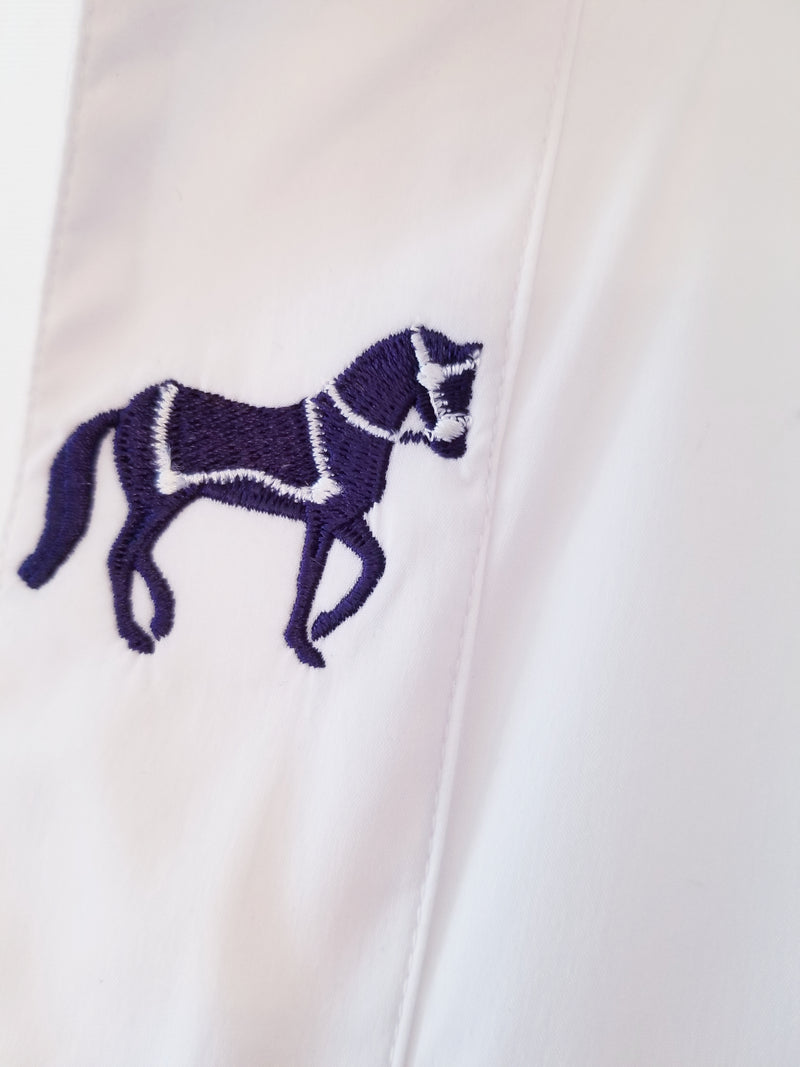 Rönner Embroidered Horse Margarita Shirt