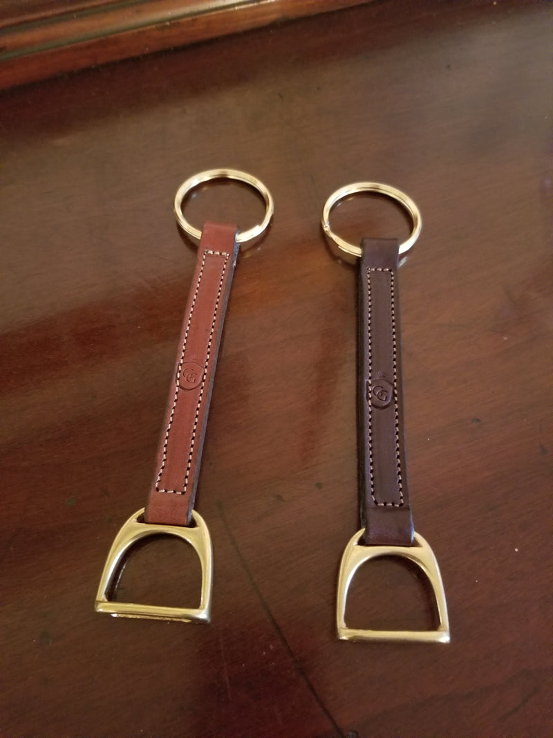 Glaze & Gordon Stirrup Key Ring
