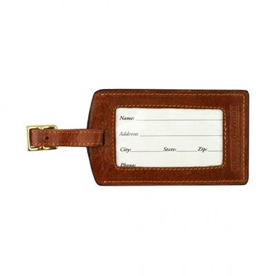 Smathers & Branson Safari Needlepoint Luggage Tag