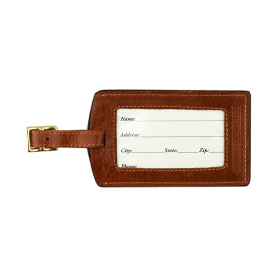 Smathers & Branson Mine Needlepoint Luggage Tag