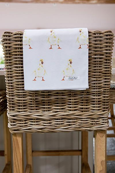 Christie Lloyd Doris Duckling Tea Towel