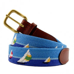 Smathers & Branson Regatta Needlepoint Belt