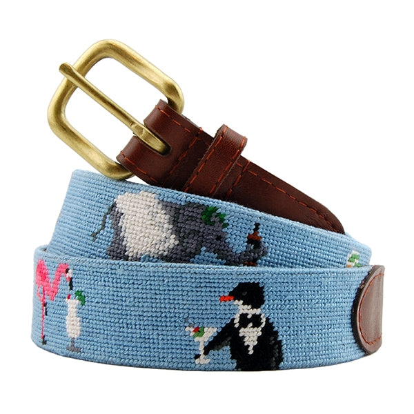 Smathers & Branson Party Animals Needlepoint Belt