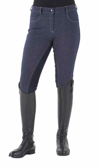 Ovation® Euro Melange Full Seat Breeches