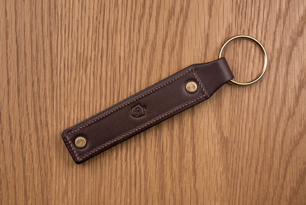 Glaze & Gordon Leather Snaffle Key Ring